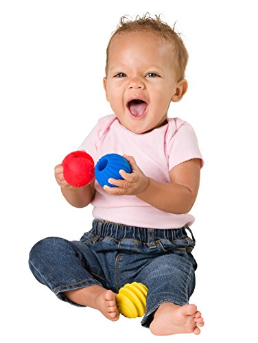 Ball Toys For Toddlers : Sensory balls textured ball set for baby and toddlers