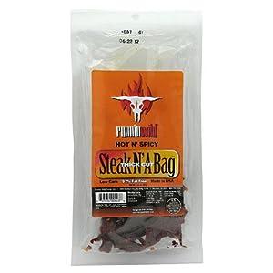 Runnin Wild Foods Steak N A Bag Hot And Spicy -- 325 Oz by Runnin Wild Foods