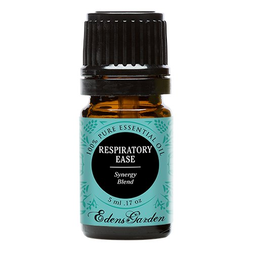 Respiratory Ease Synergy Blend Essential Oil by Edens Garden (Cardamom, Hyssop, Juniper Berry and Rosemary)- 5 ml