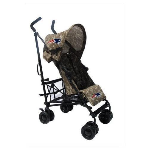 New England Patriots Camouflage Umbrella Stroller front-39988