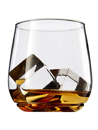 TOSSWARE 12oz Shatterproof Whiskey & Cocktail Glass, SET OF 12 BPA-Free Upscale Recyclable/Disposable Plastic Tumbler Jrs