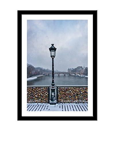 Photos.com by Getty Images Pont Des Arts Paris, France Artwork On Framed Paper