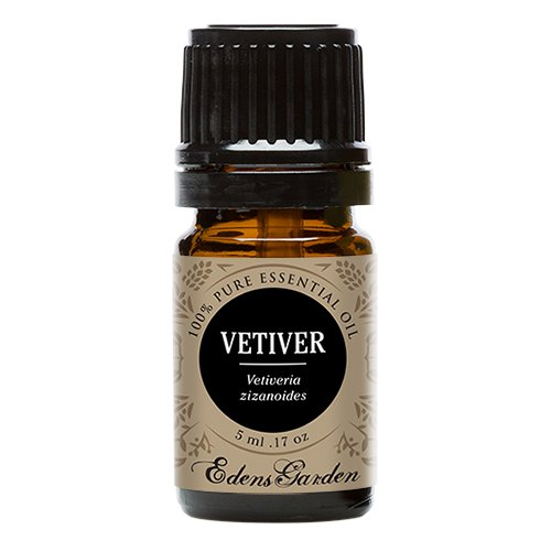 Vetiver 100% Pure Therapeutic Grade Essential Oil by Edens Garden- 5 ml
