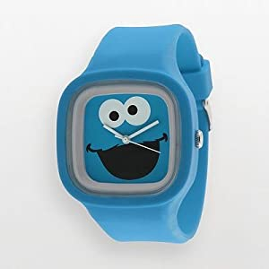 SESAME STREET WATCH 時計 クッキーモンスター SW628CM【並行輸入商品】