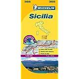 Michelin Map: Sicilia 365 ( Italy Sicily) (Maps/Local (Michelin)) (Italian Edition)