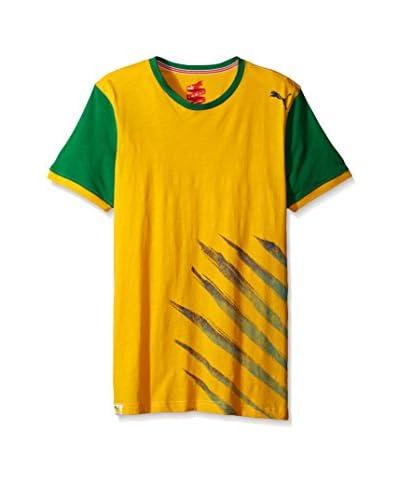 PUMA Men's Pitch Tee Brazil