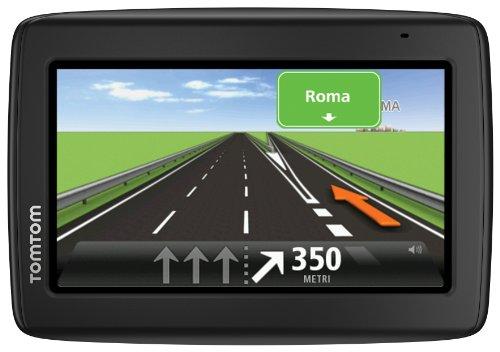 TomTom Start 20 M Europe 45 GPS per Auto, Mappe Gratis a Vita, Schermo 4.3 Pollici, IQ Routes, Map Share, Avvisi Autovelox, Riproduzione Vocale, Indicatore di Corsia Avanzato, Nero