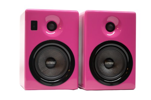 Earthquake Sound Iq-52P Speaker Pair Iq-52W- Built In 200 Watts Amplifier, High End Ipod Dock, Multiple Award Winner, Unbeatable Bass And Sound! Brand New! Compatible With Iphone 3 3Gs, Iphone 4 4Gs, Ipod Nano, Ipod Classic, Even For Home Cinema Or Gaming