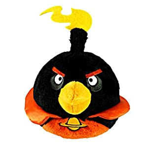 Angry Birds Space 5-Inch Black Bird with Sound