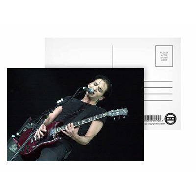 Brian Molko of Placebo - Postcard (Pack of 8) - 6x4 inch - Art247 Highest Quality - Standard Size - Pack Of 8