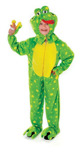Funny Frog Plush Children's Fancy Dress Costume - 128cm (Age 7-9 Approx)