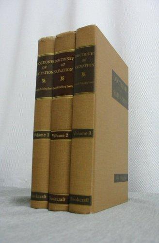 DOCTRINES OF SALVATION - 3 VOLUME SET - Sermons and Writings of Joseph Fielding Smith - Vols 1-3, Bruce R. McConkie