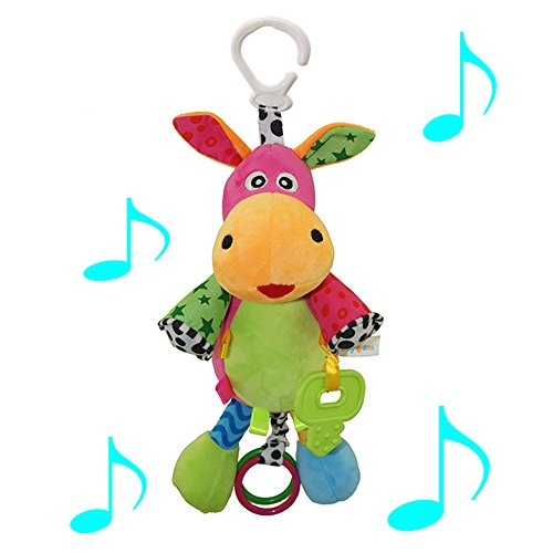 Baby-carriages-hanging-plush-toy-donley-doll-with-music