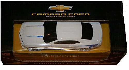 Guokai Chevrolet Chevy Camaro Copo Model Car 1:24 Scale Officially Licensed GM Product, License Friction Series by Lollipop Toys (Chevy Camaro Model Car compare prices)