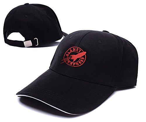 HAIHONG Futurama Planet Express Logo Adjustable Baseball Caps Unisex Snapback Embroidery Hats