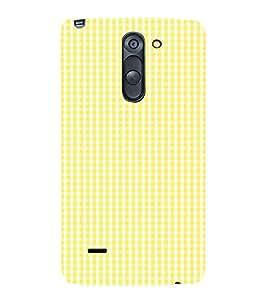 Yellow Pattern 3D Hard Polycarbonate Designer Back Case Cover for LG G3 Stylus :: LG G3 Stylus D690N :: LG G3 Stylus D690
