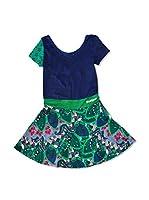 Desigual Vestido Maria Rep (Verde)