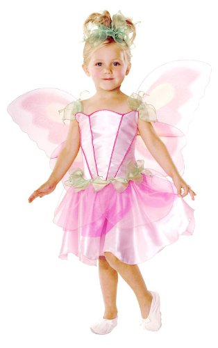Girls Pink Fairy Costume - Toddler