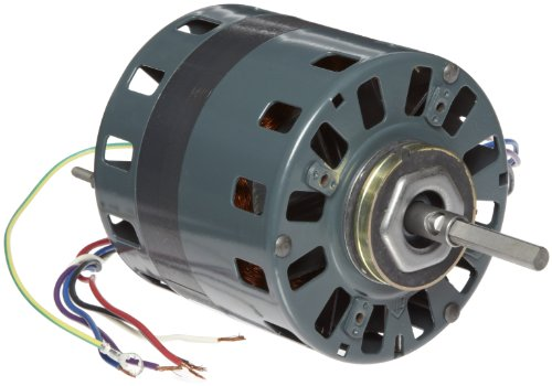 "Fasco D492 5"" Frame Open Ventilation Shaded Pole Refrigeration Fan Motor With Sleeve Bearing, 1/15 Hp, 1050Rpm, 115/208-230V, 60Hz, 3.4-1.7 Amps, Cw Rotation"