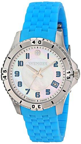 Wenger-Womens-0121102-Analog-Display-Swiss-Quartz-Blue-Watch
