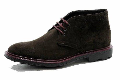 Hugo Boss Men'S Fashion Dress Boot Bontio Leather Shoes 50255039 (12, Dark Brown)