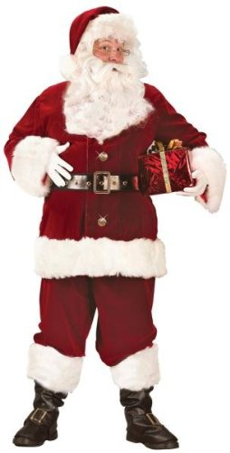 Costumes For All Occasions FW7504 Santa Suit Super Deluxe