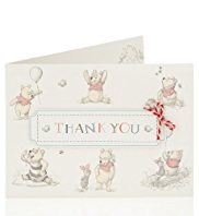 Winnie The Pooh Thank You Multipack Cards