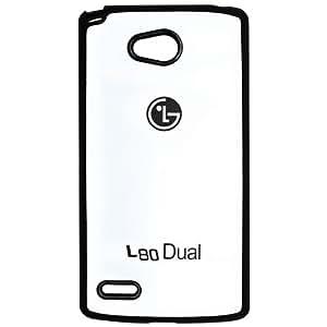 Casotec TPU Back Case Cover for LG L80 - White