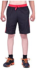DFH Men's Cotton Shorts (MNBL2, Black, 32)