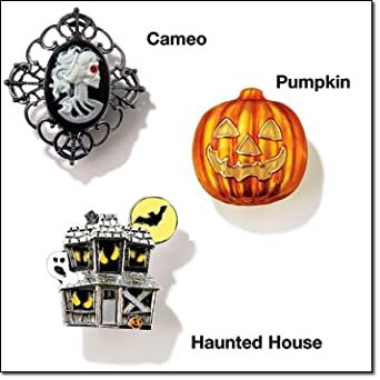 Avon Halloween Motif Pin - PUMPKIN