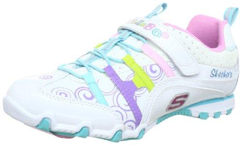 Skechers Bella BallerinaSpin Rider Trainers Girls White Weià (WMLT) Size: 36