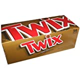 Twix-Chocolate Caramel Cookie Bars, 1.79oz 36ct