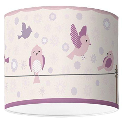 Paralume diametro 16cm-Birds & Flowers