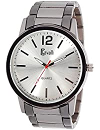 Cavalli Men's Two Tone-Silver/Grey Analog Watch - B01E0KYLPU