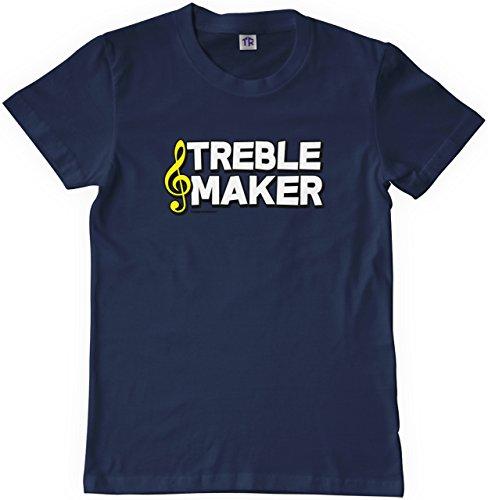 Threadrock Big Boys' Treble Maker Youth T-Shirt L Navy (Treble Maker compare prices)