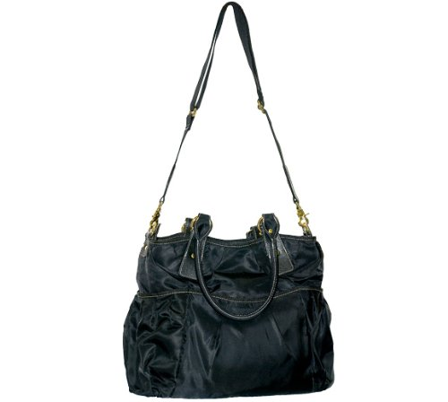 Monaco Diaper Bag - Black - 1