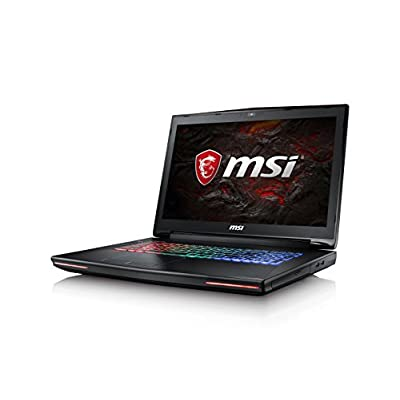 MSI GT72VR 7RE Dominator Pro 17.3-inch Laptop (Corei7-7700HQ+HM175/16GB/256GB+ 1TB SATA 7200rpm/Windows 10/8GB...