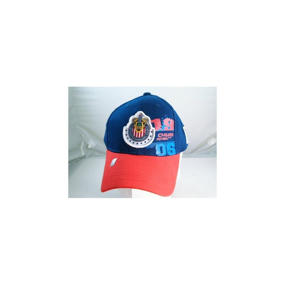 CHIVAS de GUADALAJARA OFFICIAL TEAM LOGO CAP / HAT   CV011