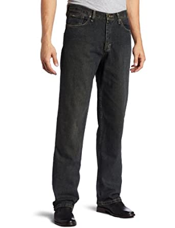 Lee Men's Big & Tall Premium Select Relaxed Fit Straight Leg Jeans, Sanded Bronze, 44x30