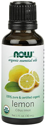 Now Foods Lemon Oil Organic 100% Pure, 1 ounce