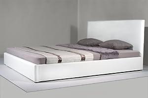 leder bett polsterbetten bettgestell luxus kingsize. Black Bedroom Furniture Sets. Home Design Ideas