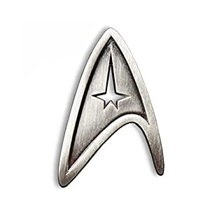 Star Trek Cosplay Brooch Starfleet Division Metal Badge Replica