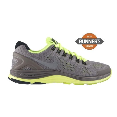 buy popular 5c987 ff280 Nike Lunarglide 4 Mens Running Shoes 524977 017 Sport Grey ...