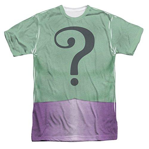 Batman Classic TV Riddler Uniform All Over Front T-Shirt