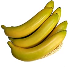 Moving Box 6pcs High Quality Artificial Yellow Banana Fake Fruit Props Toys Home Christmas Decor
