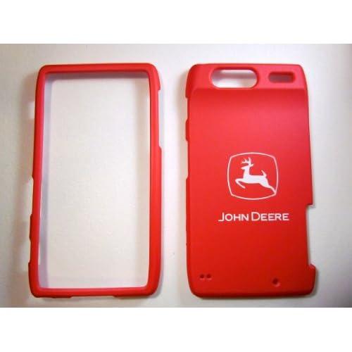 com: John Deere Pink For Motorola Droid RAZR XT912 Hard Case Faceplate
