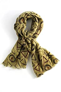 Asian Eye Fair Trade Wool Acute Scarf (Multi)