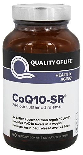 CoQ10-SR 100mg Quality of Life Labs 60 VCaps