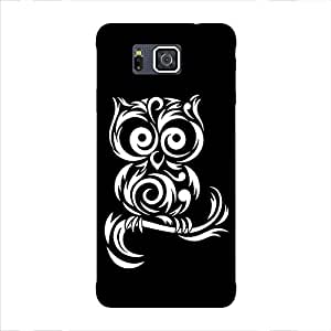 Back cover for Samsung Galaxy Alpha Owl
