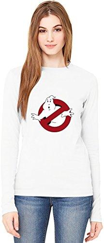 Ghostbusters T-Shirt da Donna a Maniche Lunghe Long-Sleeve T-shirt For Women| 100% Premium Cotton| DTG Printing| XX-Large
